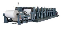 永成供双色胶印机,票据生产线,预印,预印机
