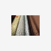 人造反绒皮 产品汇 供应PVC人造革 烫金蛇纹皮革