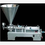 供应单头膏体灌装机-灌装机械