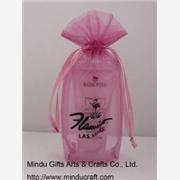 供应高级化妆品促销纱袋,节日礼品赠品饰品包装礼品袋cantonfair