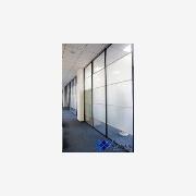 供应单层玻璃隔墙/单层烤漆玻璃隔断/