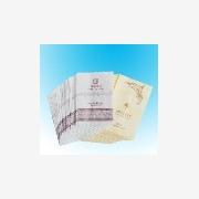 深圳桑野供应淋膜纸浴帽包装|淋膜纸环保袋|酒店用品包装|淋膜纸复合袋生产