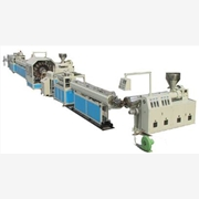 PVC纤维增强软管线,钢丝管生产线,青岛鑫泉塑料机械