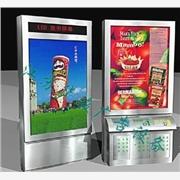供应园林环保垃圾箱换画广告灯箱