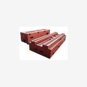 供应床身铸件铸造,加工机床床身