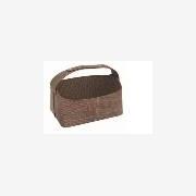 供应礼品皮篮/节日礼品包装皮篮设计/广州礼品篮厂家