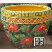 供应陶瓷大缸,手工雕刻大缸