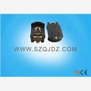 供应工控设备电池座厂家CR1220镀金贴片座