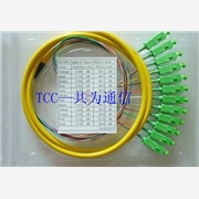 供应广电(12芯FC束状尾纤)