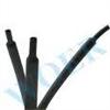 耐高温热缩套管 200℃氟橡胶热缩套管 黑色高温热缩管