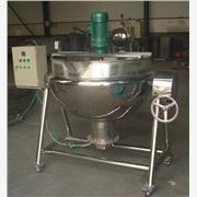 供应强大600型燃气夹层锅砂锅煮锅可倾式夹层锅