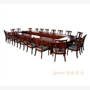 供应重庆厂家定做大型实木会议桌 重庆高档会议桌