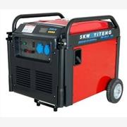 没有声音的汽油发电机|5kw单相家用汽油发电机组