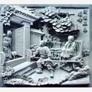供应恒锐石雕0031 二十四孝浮雕十二生肖浮雕