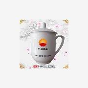 供应东方雅瓷正德03加字陶瓷茶杯 礼品陶瓷茶杯