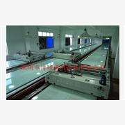 印花扎染布 产品汇 供应博研JD-PC6012-D全自动台板丝网印花机、布料印花机