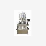 全自动定量液体灌装机 酱油灌装机 封闭式葡萄酒灌装机