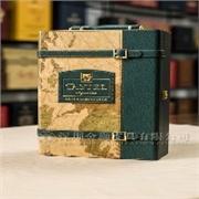 卡斯特红酒盒|拉菲红酒皮盒|王朝干红红酒盒