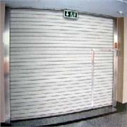【9】海利门业生产带小门、疏散门、逃生门的复合钢质防火卷帘