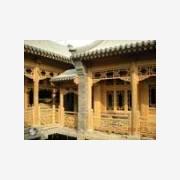 四合仿古室内设计,承接仿古建筑设计——腾远中式