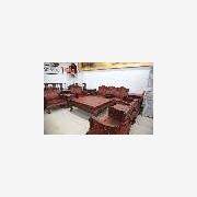 仙游帝宝古典红木家具厂 红酸枝沙发