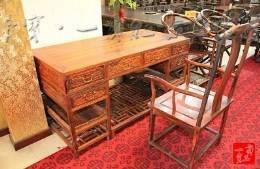 家居 红木家具 古典家具 一米六 办公桌