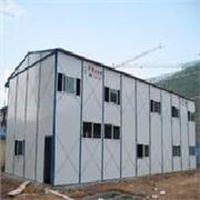 四川专用防火岩棉板材质彩板房,活动板房品牌,彩板房