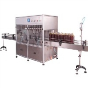 供应先进高精度灌装机 全自动灌装机 食用油灌装机青州鲁泰机械