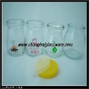 木梢木塞 产品汇 330ml玻璃奶茶瓶,玻璃冷泡茶瓶,玻璃木塞瓶