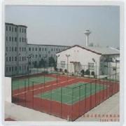 泰安塑胶网球场设计施工 泰安专业塑胶网球场铺装承接 博郎体育