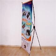 广州镭射纸 产品汇 广州特价X展架喷画公司