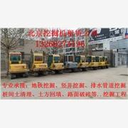 供应青龙北京35挖掘机带破碎头出租