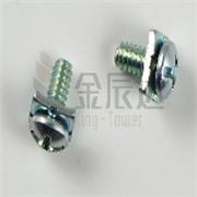 厂家直销吸尘器组合螺丝 电熨斗组合螺丝 缝纫机组合螺丝