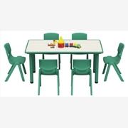 供应梦航MH0019塑料桌椅_幼儿园桌椅_儿童实木桌椅厂家