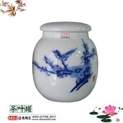 供应订做陶瓷将军罐子 景德镇陶瓷罐子