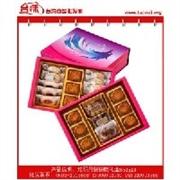 中秋月饼|玹玥月饼饼乾礼盒652g|台湾宏亚月饼礼盒批发