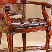 [大风范]卡布基诺色居室套装 椅+圆茶几