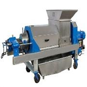 新乡力合机械水果前处理设备(破碎辊为无毒高弹性橡胶制造, 对