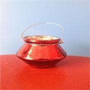 厂家直销优质玻璃瓶 玻璃工艺吊耳瓶