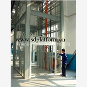 供应济力各种型号导轨链条式升降货梯