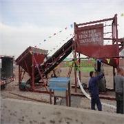 新型水轮洗沙设备-沙石清洗机械
