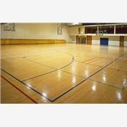 供应济南康达体育专业篮球场木地板安装,篮球场实木地板安装流程