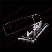 供应平行线有机玻璃制品BOX-032亚克力盒子
