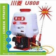 食品虫害防制U808背负式机动喷雾机,川菱背负式消毒喷雾机,机动打药机害虫防制设备