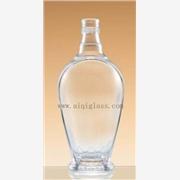 长期供应广州爱淇500ml透明玻璃白酒瓶