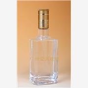 供应广州爱淇500ml成套玻璃白酒瓶