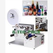 供应半自动圆瓶贴标机,不干胶贴标机,半自动贴标机,贴标机价格