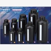 黑色窄口瓶,黑色聚乙烯遮光,防紫外线 1000ml