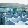 深圳办公楼装修,办公室隔断,形象墙安装 网络布线