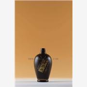 供应广州500ml喷漆玻璃白酒瓶